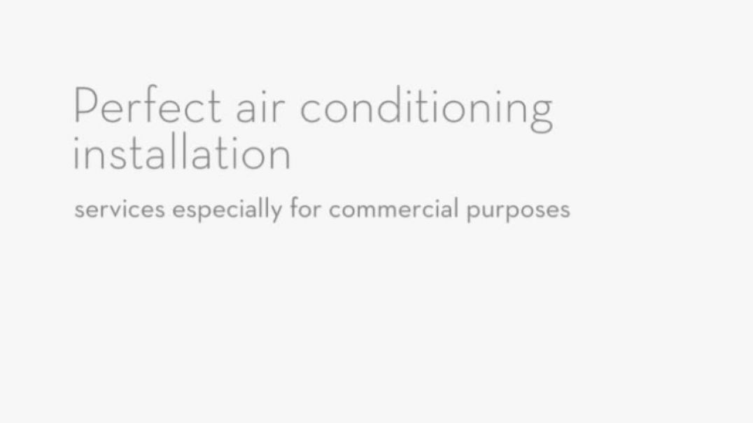 Different Air Conditioning and Refrigeration Services
