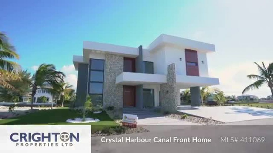 Crystal Harbour Canal Front Home - Marquise Drive - MLS# 411069