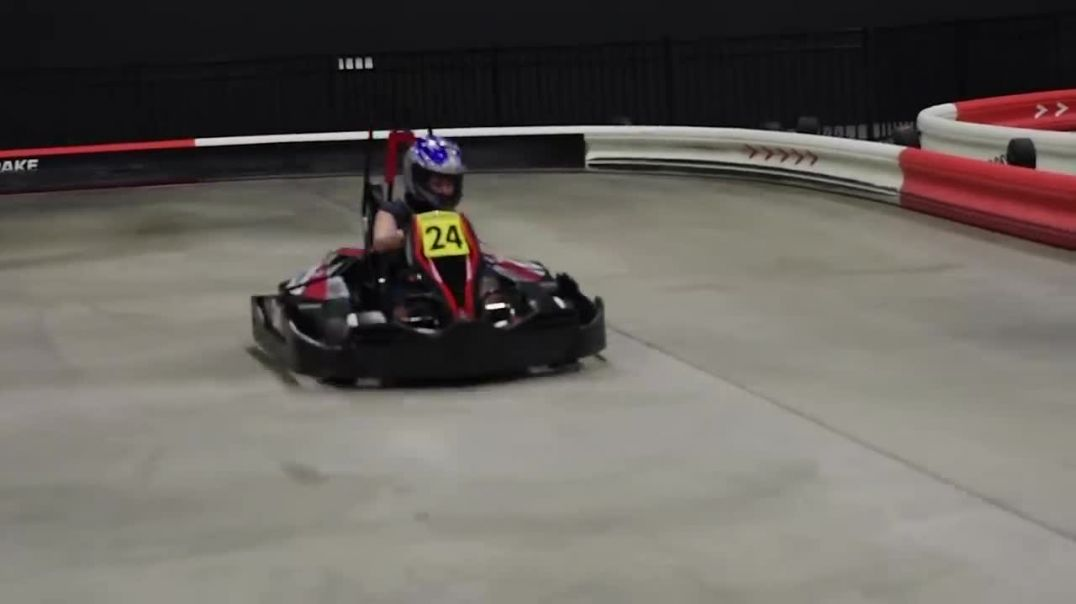 Race high speed electric go karts indoors @ speeds up to 50 MPH! Chicago area! Like driving a Tesla!